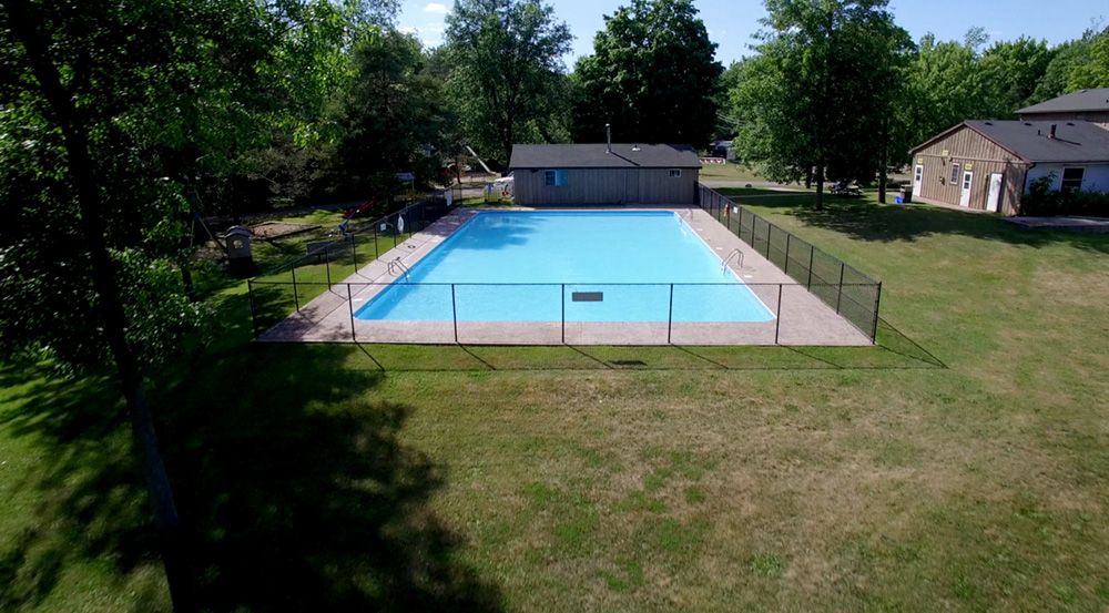 Pine Valley Park - Aerial Pool 1